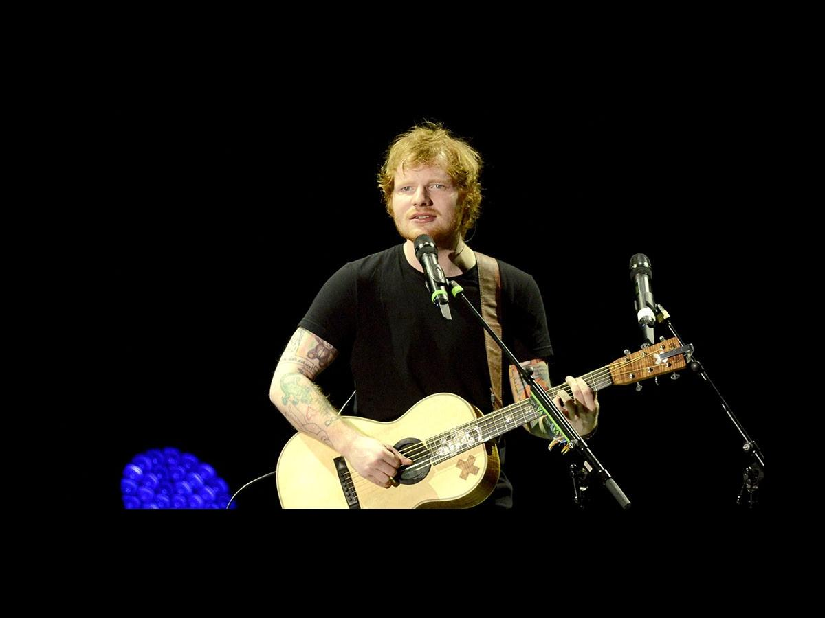 Ed sheeran s taking a break from music to work in an op - Ed sheeran give me love live room ...