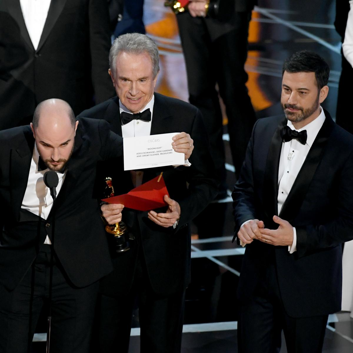 The Oscar for Best Picture gets given to the WRONG film!