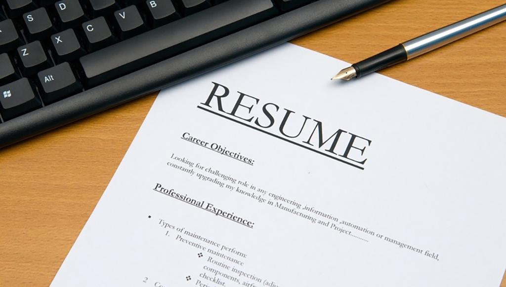 9 things you should not do when writing your resume