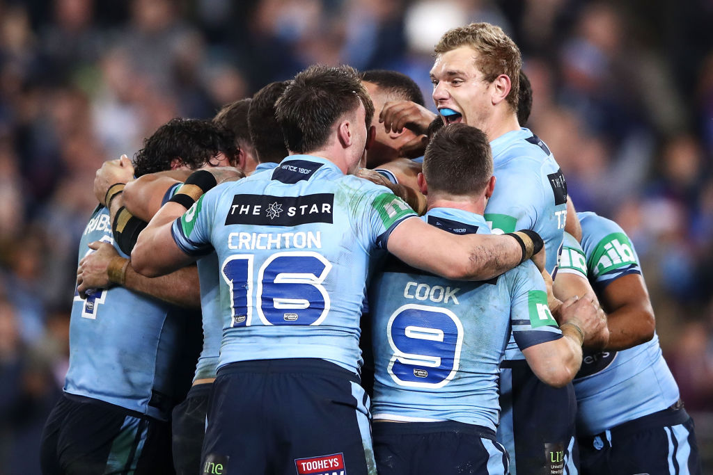 State of Origin NSW Mark Kolbe/Getty Images