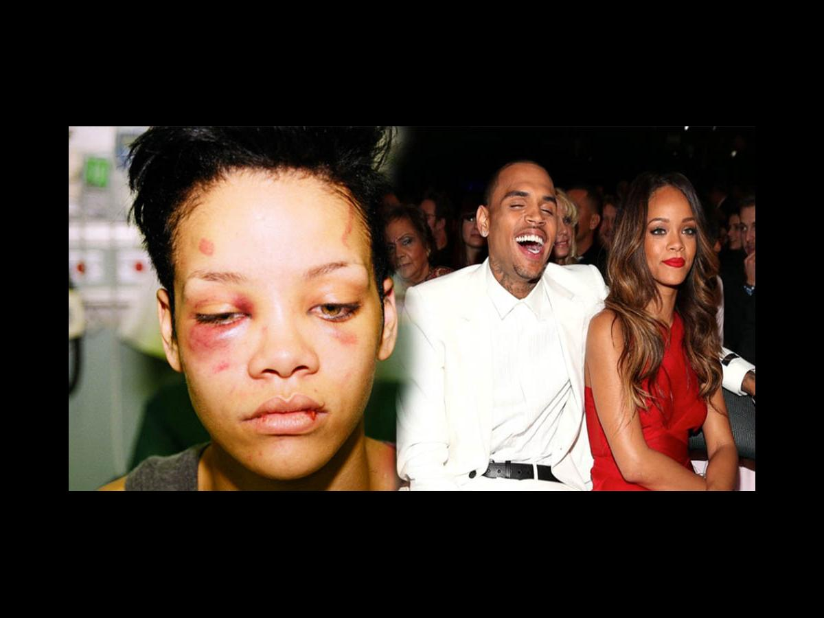 Chris Brown laughs at a meme about beating ex-gf Rihanna ...