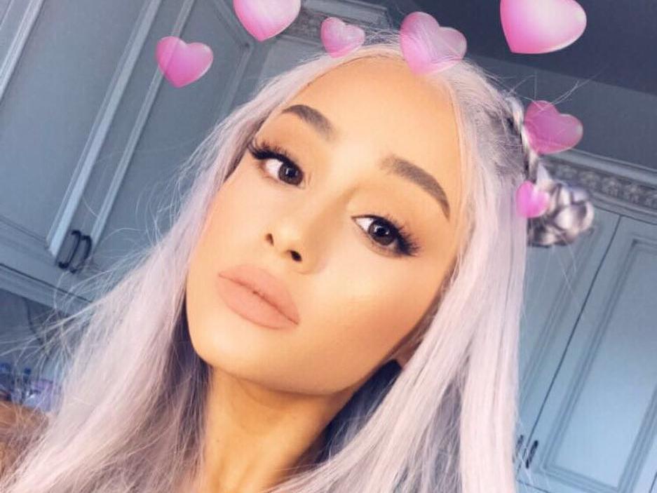Ariana grande instagram your phrase