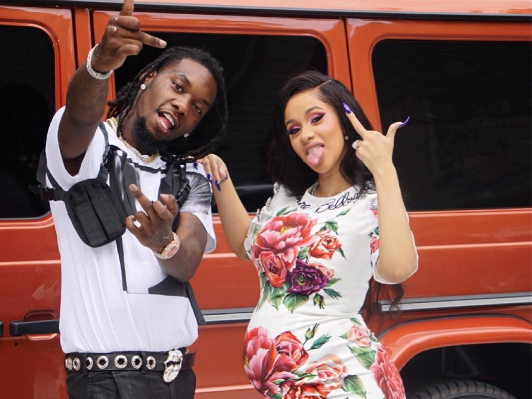 Cardi B And Offset Welcome Daughter Kulture Kiari Baby Feeding