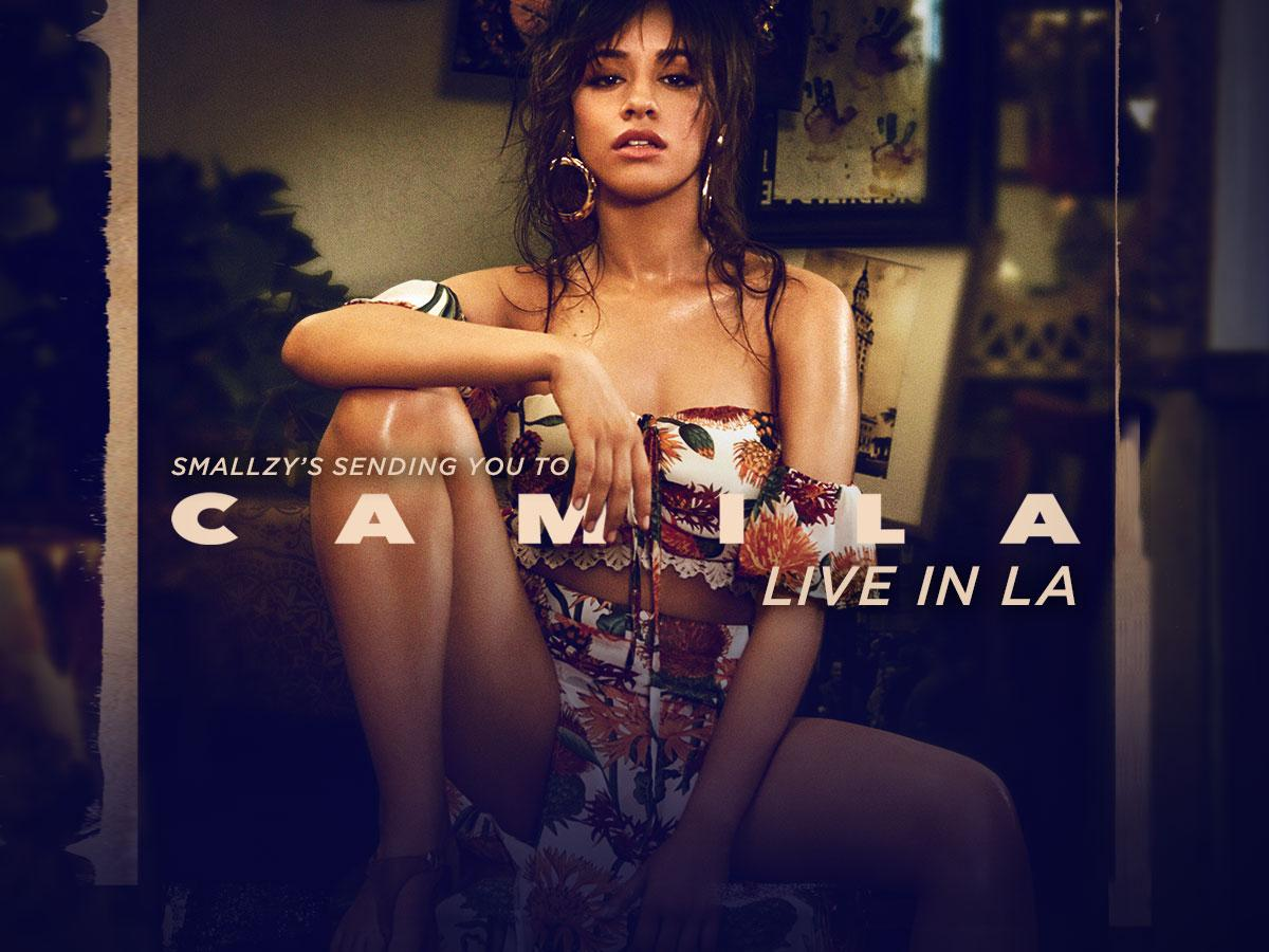 Smallzy's flying YOU to see and MEET Camila Cabello LIVE in LA!