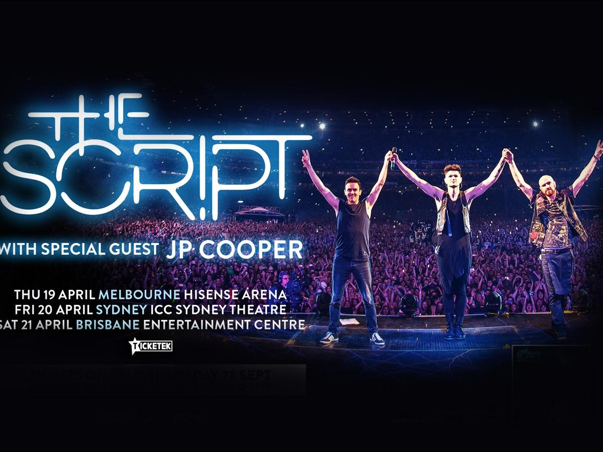 Nova's sending you to see The Script LIVE!