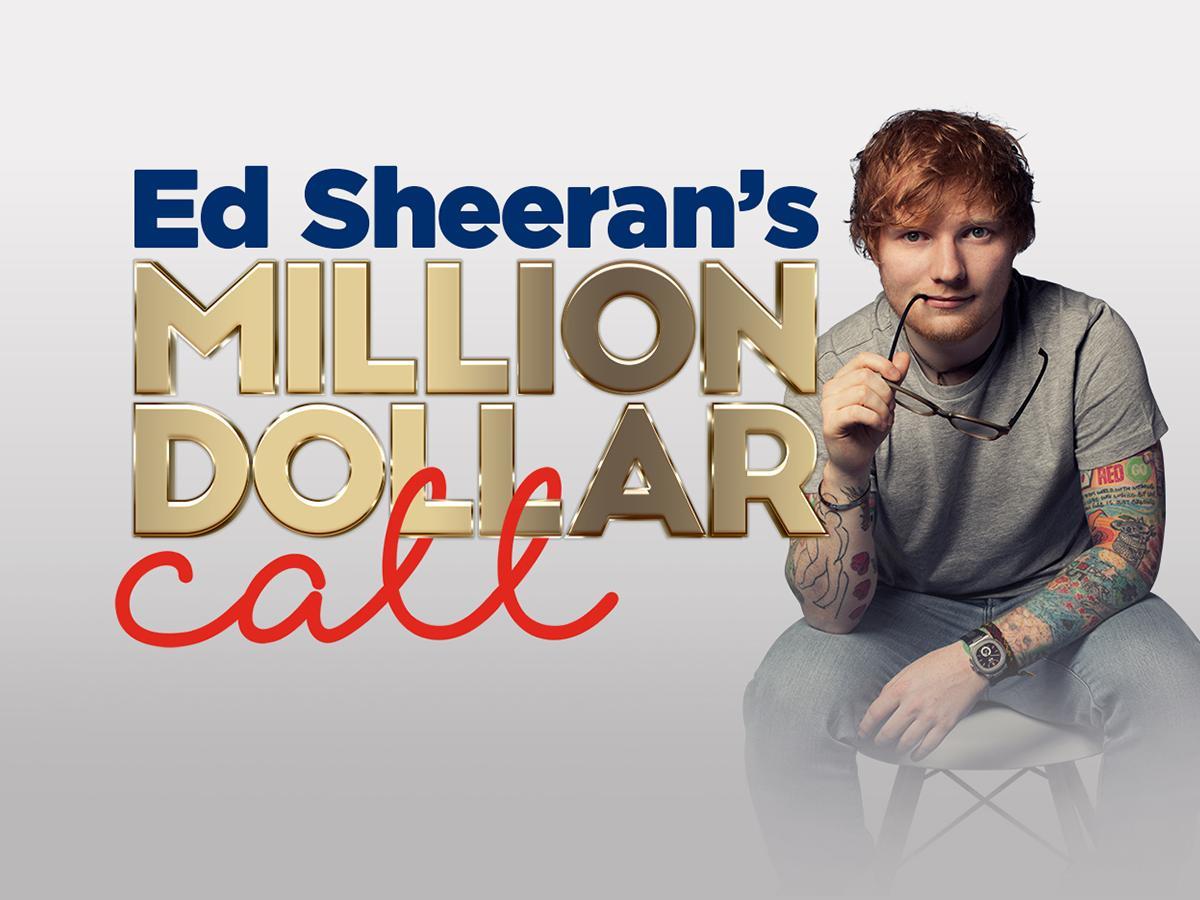Win nova 919 ed sheerans million dollar call m4hsunfo