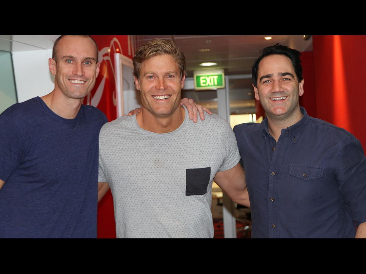 Dr Chris Brown And Fitzy Takes Their Shirts Off In Studio Nova 969