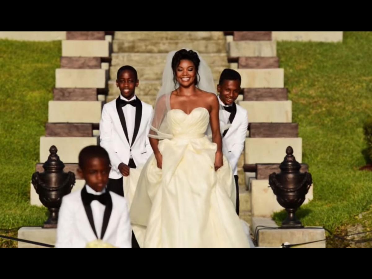 Gabrielle union and dwayne wades wedding video is insane nova 969 gabrielle union junglespirit Image collections