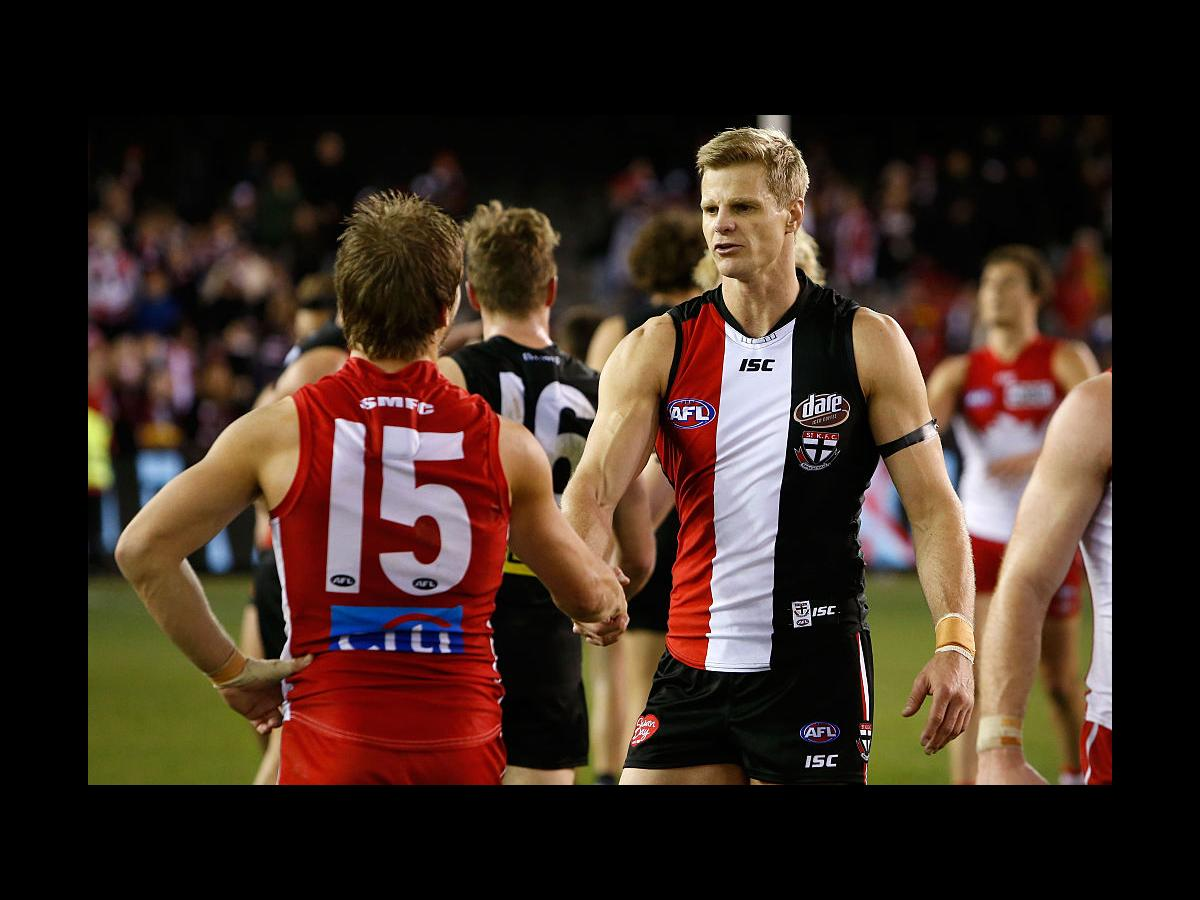 """History is created as AFL launches a """"Pride Game"""" between"""