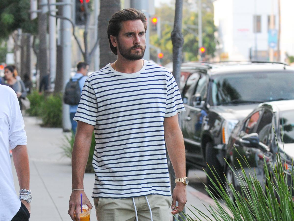 The sad reason behind Scott Disick's new partying pics ...