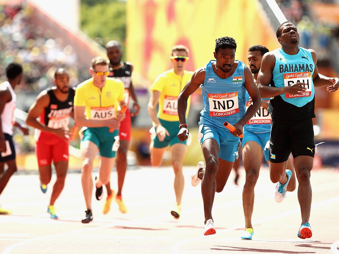 irelands mens 4x400m team - 709×485