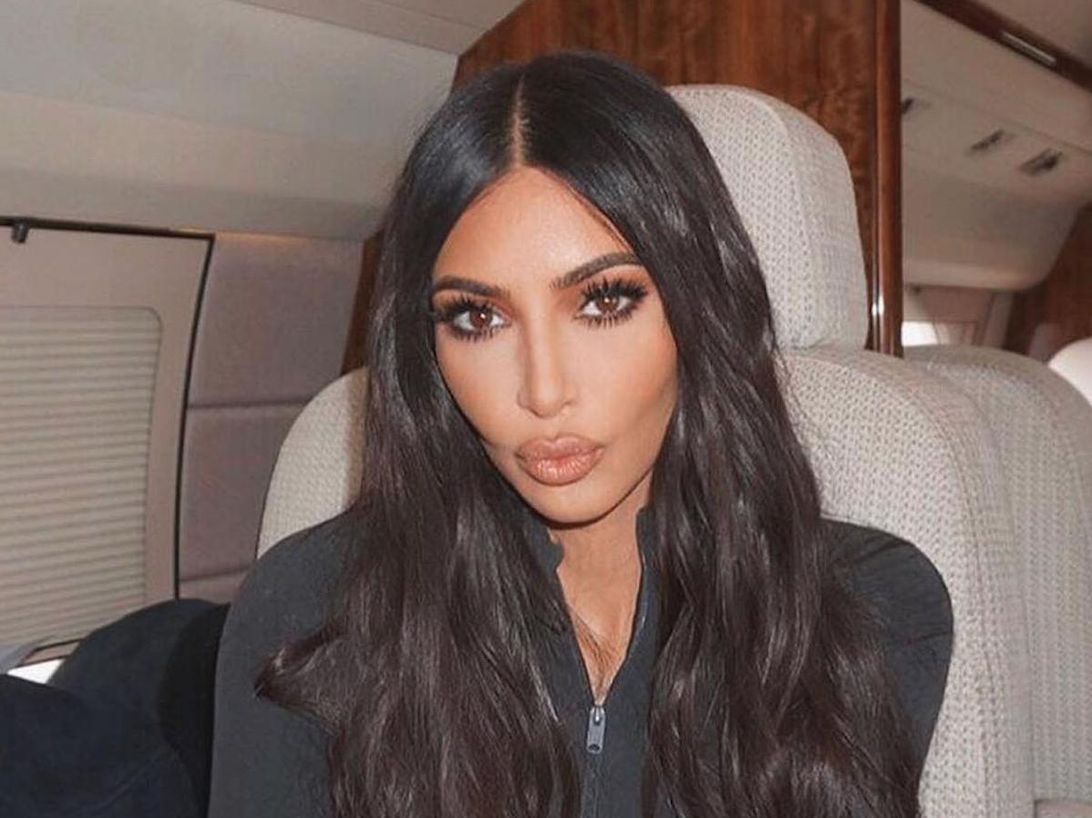 Kim Kardashian Dyes Her Hair Neon Green To Match Her Lamborghini