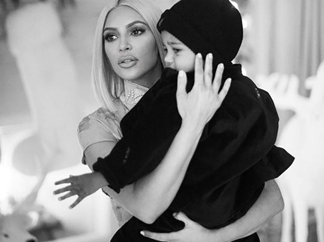Kim Kardashian says she didn't actually use a surrogate for baby number three