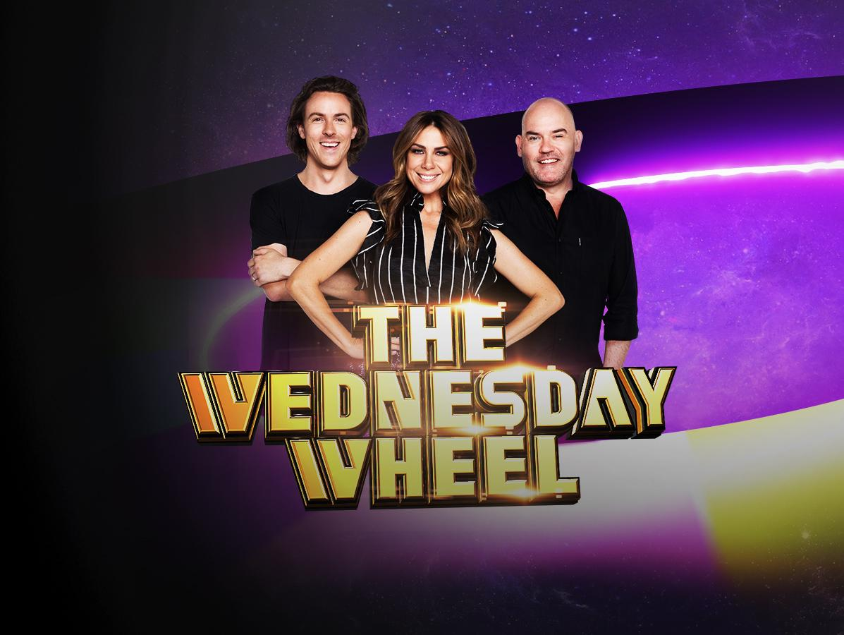 Win prizes with Kate, Tim and Marty's Wednesday Wheel!