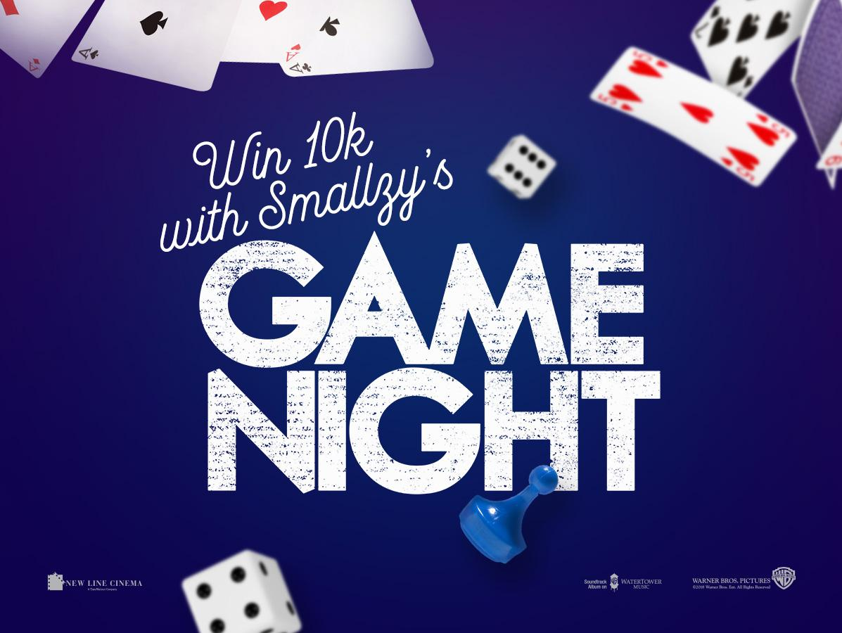 Win 10k with Smallzy's Game Night