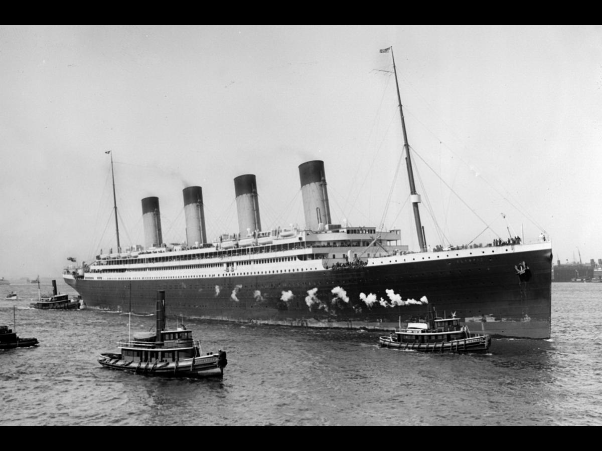 Pics of real titanic ship