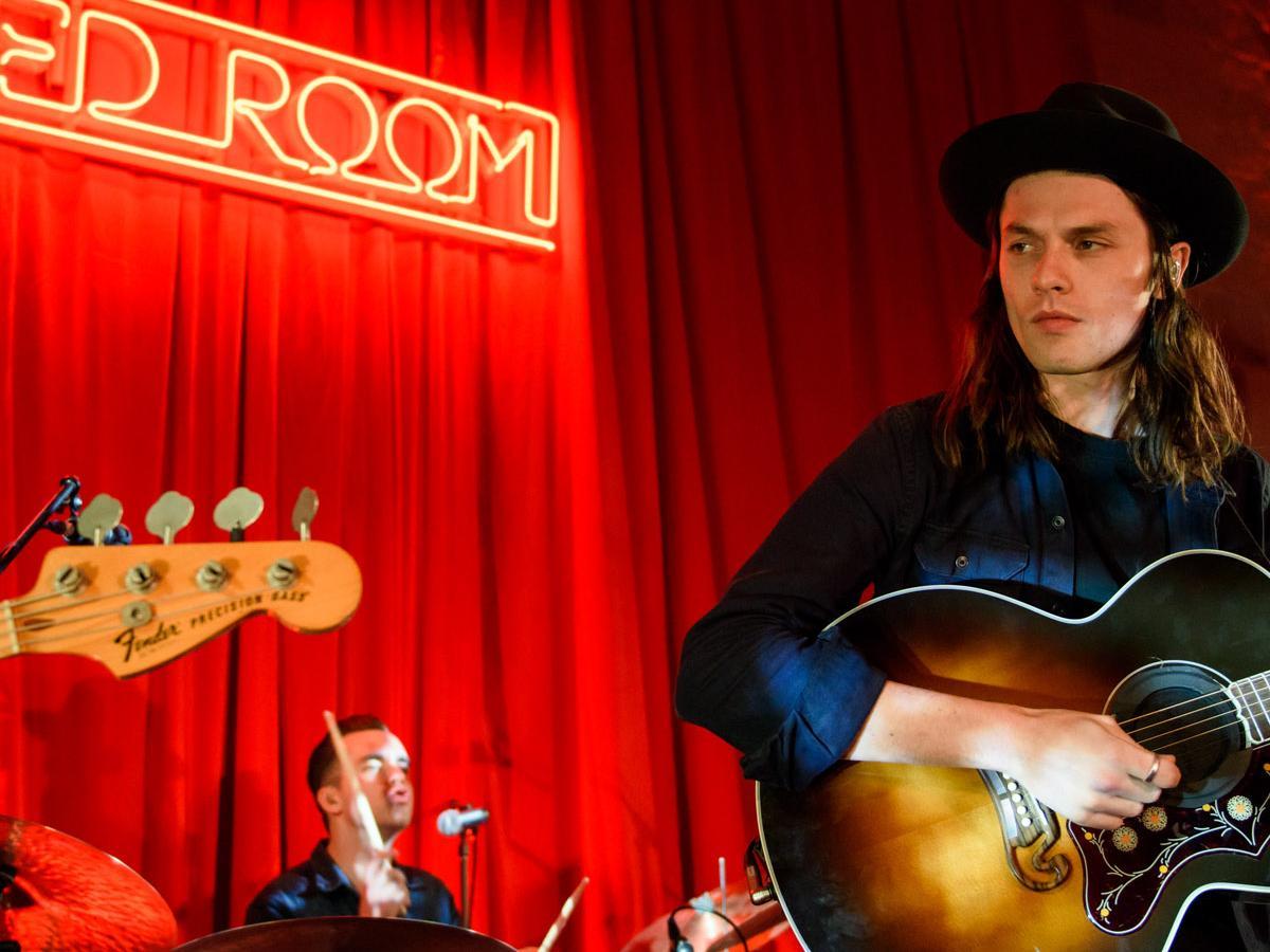 James Bay performs 'Let It Go' in Nova's Red Room | Nova 100