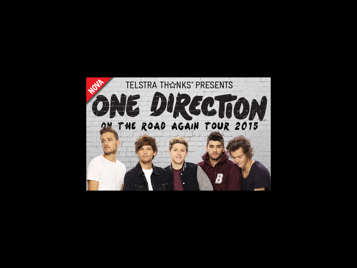 One direction tour dates
