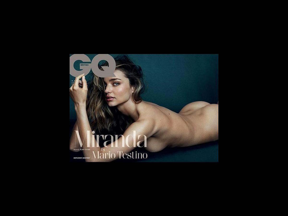 Miranda Kerr Gets Nude For Gq