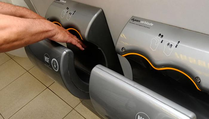 Dyson Airblade spreads more germs than paper towels, according to new study | FIVEaa