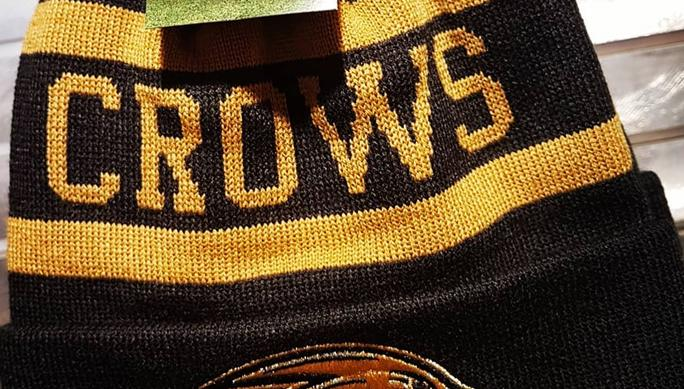 A black and gold Adelaide Crows beanie available from the club s merch  store has some fans scratching their heads over its resemblance to the  strip of 2017 ... 776b5998047