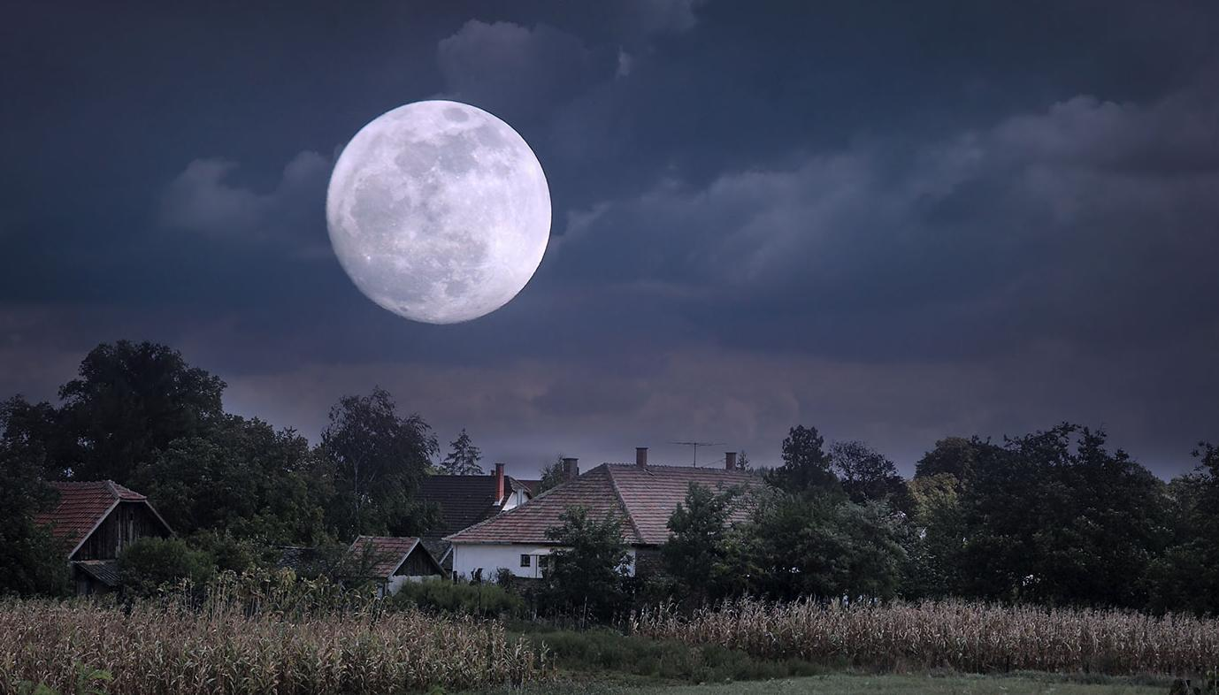 There's a really RARE lunar phenomenon happening tonight that only occurs 'once in a blue moon'