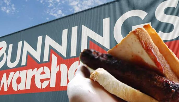 Image result for bunnings sausage sizzle