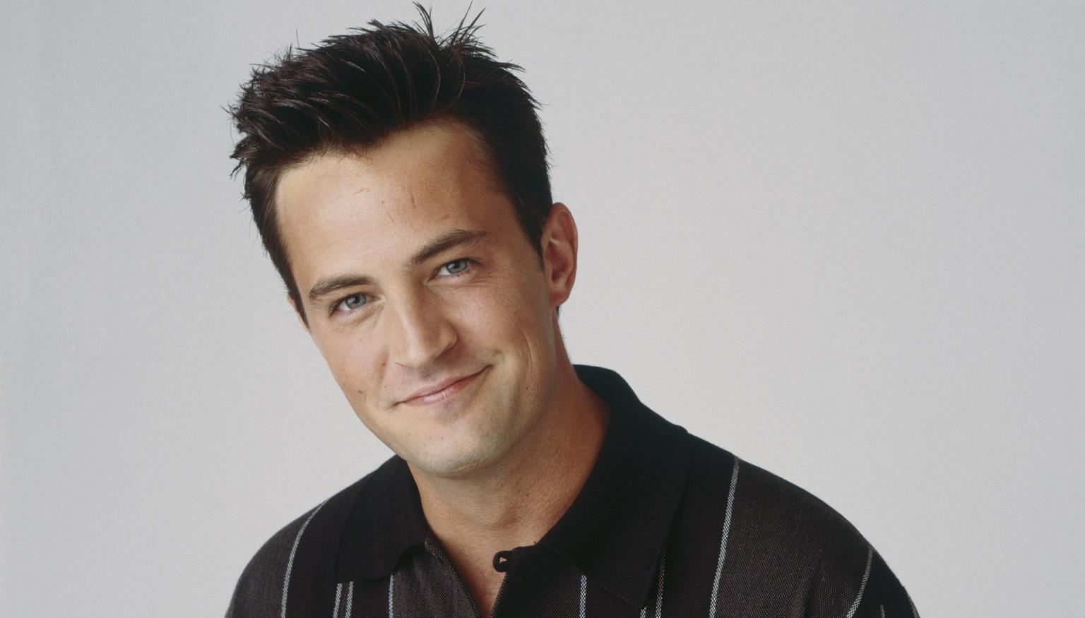 'Friends' star Matthew Perry is almost unrecognisable ...