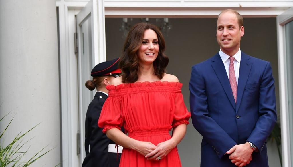 5d05531f2 Kate Middleton has been spotted in a Zara dress that is now flying off racks