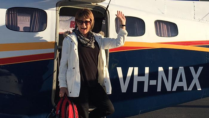 Jane on a plane – around the state in a day | FIVEaa
