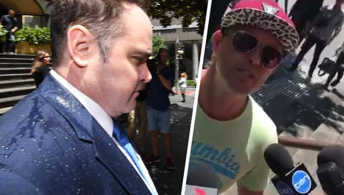 Ben McCormack Attacked Outside Sydney Court