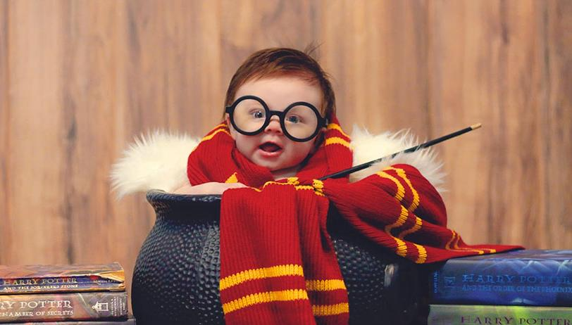 Halloween. When Kayla Glover shared photos from her 3 month oldu0027s ridiculously cute Harry Potter photoshoot the internet went into melt-down. & 8 of the best baby Halloween costumes ever | smooth