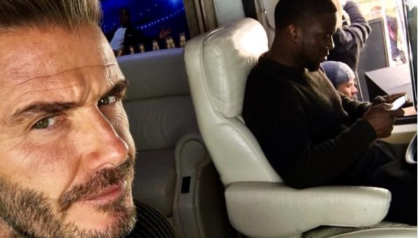 David Beckham Harper Seven Royals Birthday