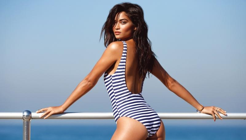 1e5b3297d7281 Everyone's talking about a photo of Shanina Shaik in a swimsuit   smooth