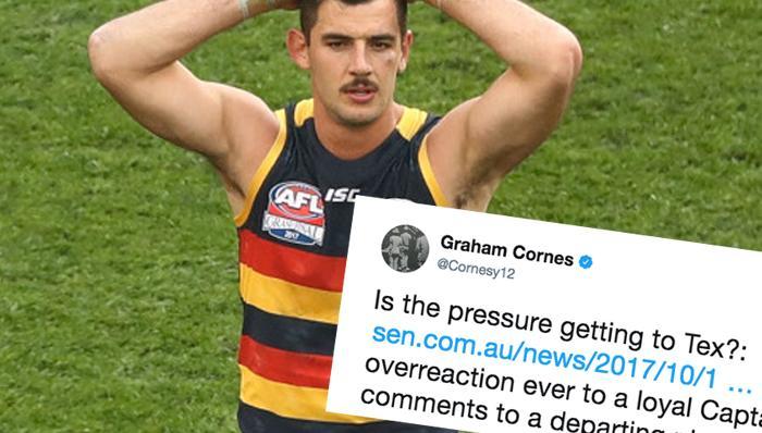 Lever's Crows AFL exit about money: Walker