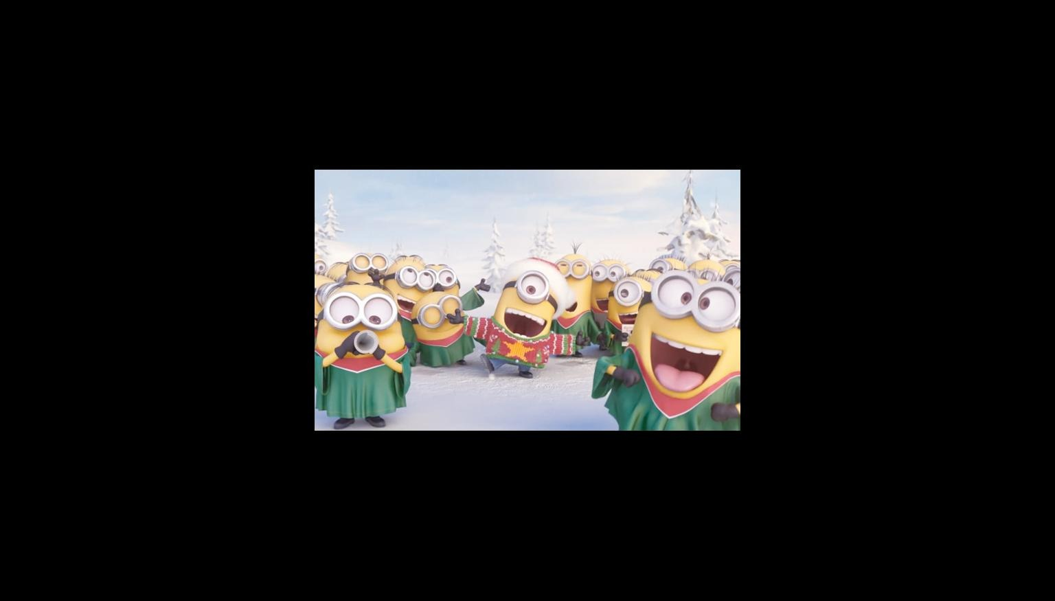 this will soon become your favourite christmas song - Minions Christmas Song