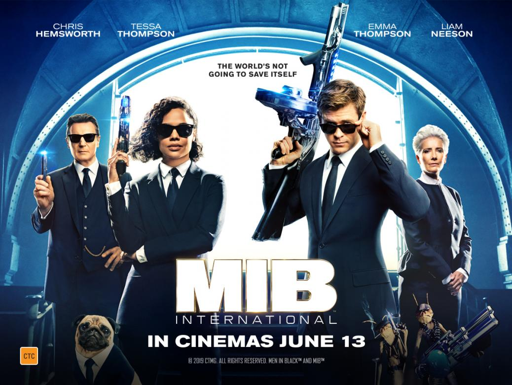 Be One Of The First To See Men In Black International