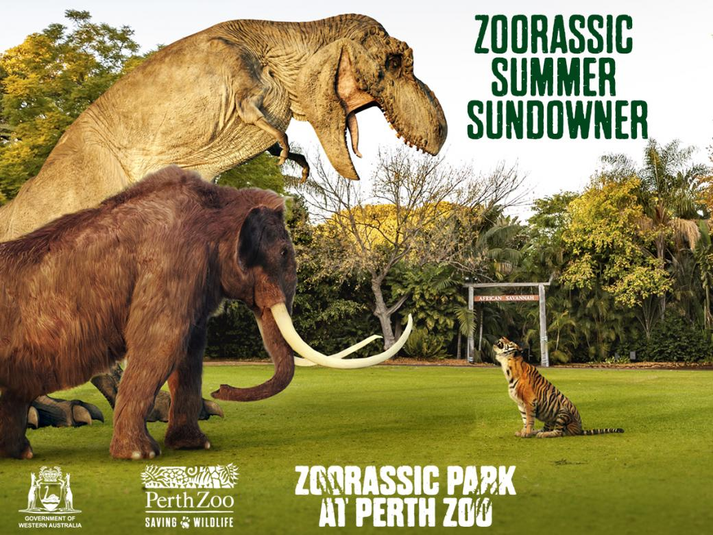 Win! Dine with the giraffes at Perth Zoo's Zoorassic Summer Sundowner