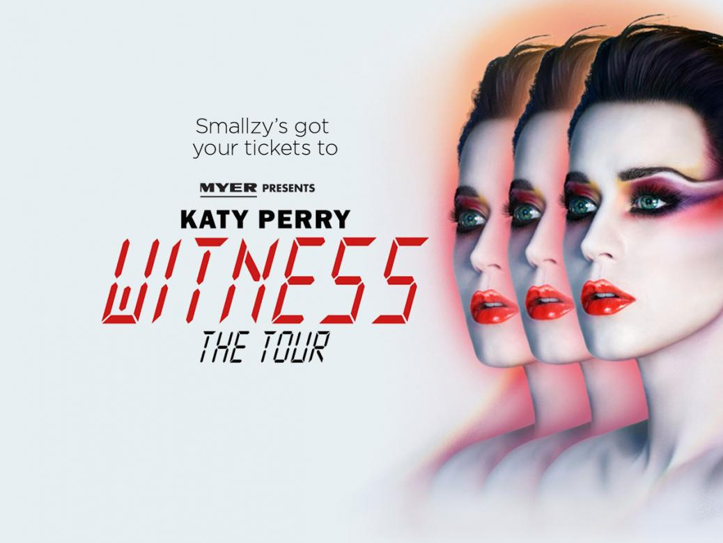 Smallzy's Text for Tix! See Katy Perry's WITNESS: The Tour LIVE!