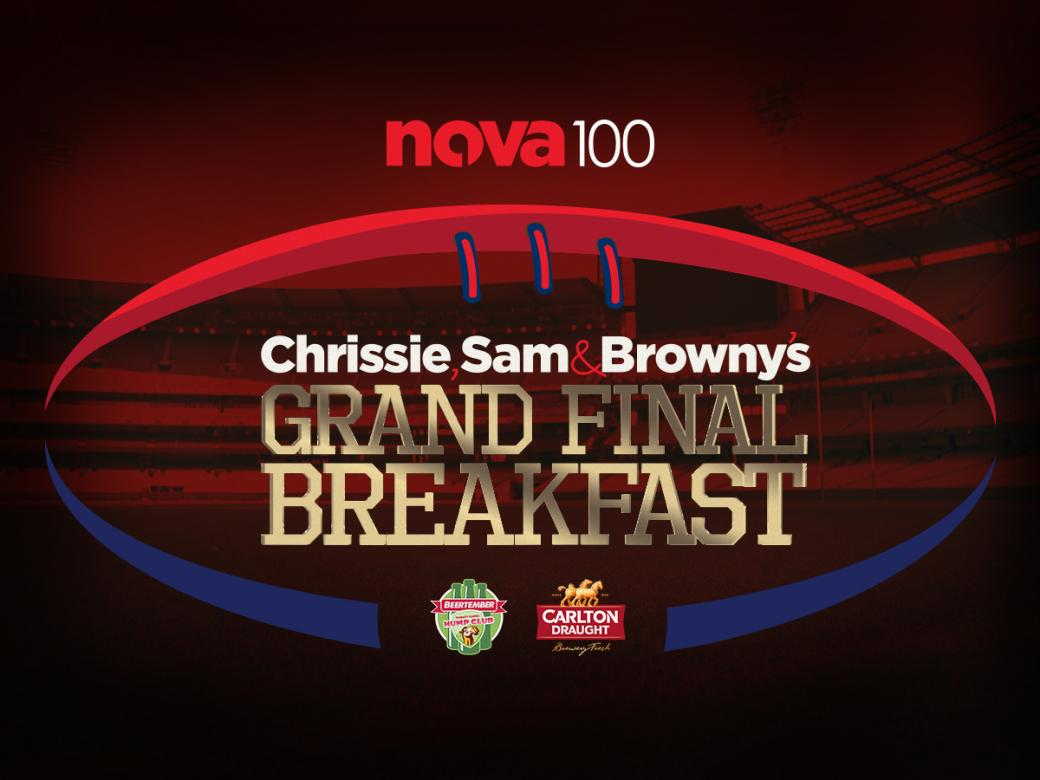 Win VIP access to Chrissie, Sam & Browny's Grand Final Breakfast!