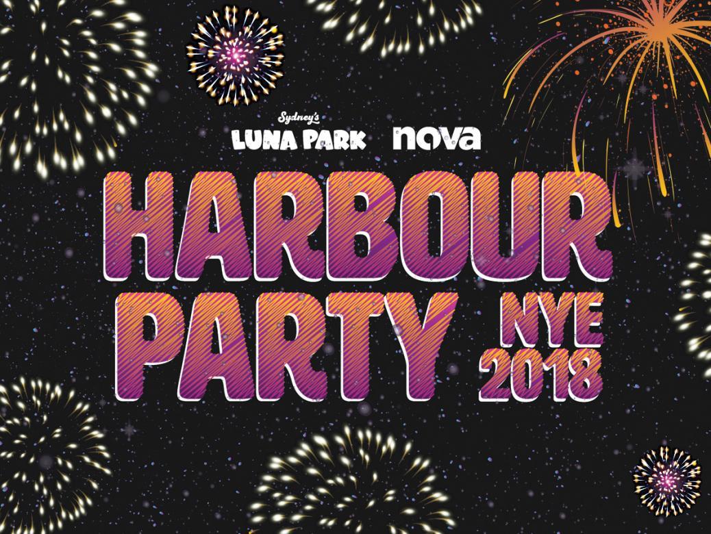 Nova's sending you to Luna Park's NYE Harbour Party!