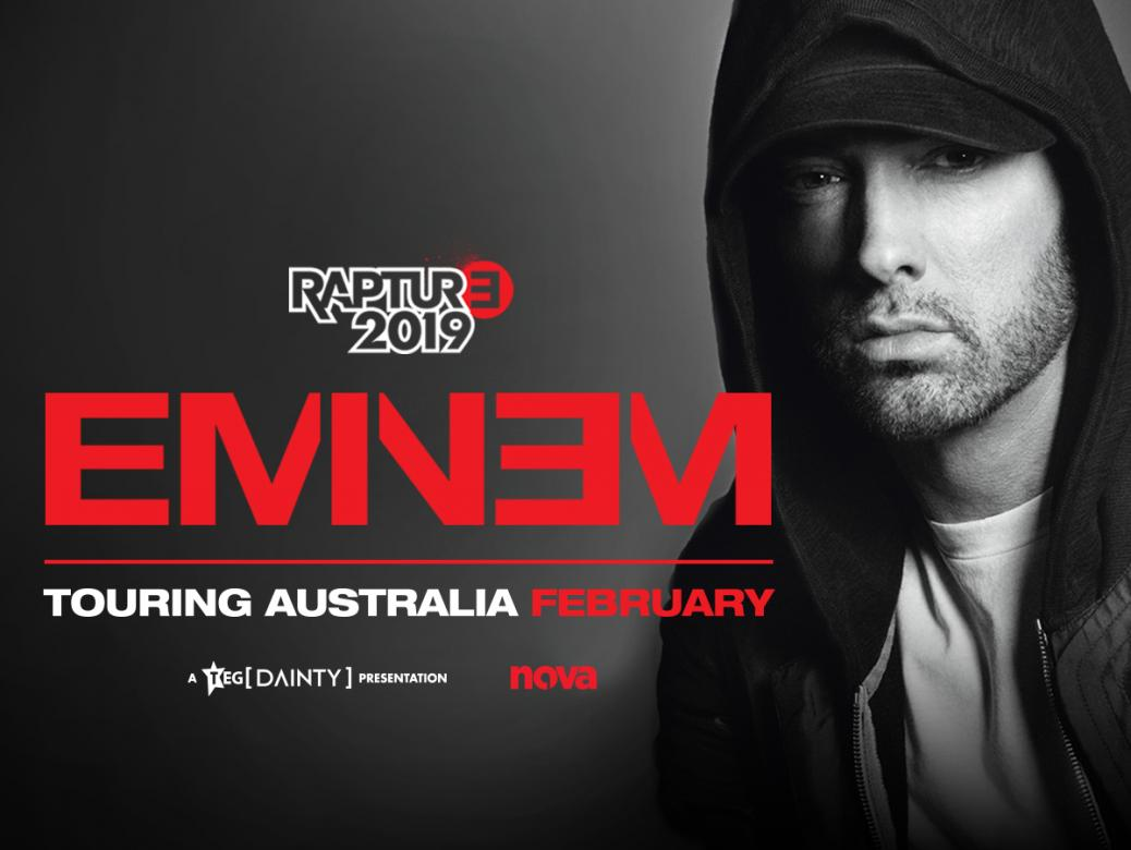 Nova's sending you to see Eminem LIVE!