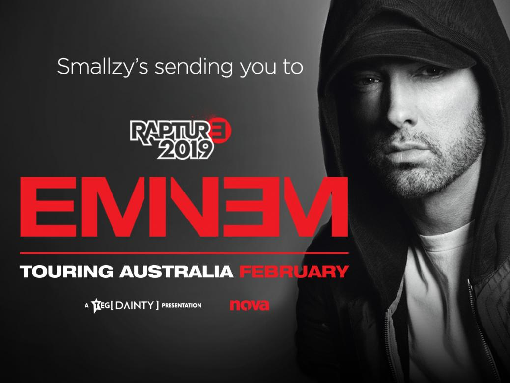 Smallzy's sending YOU to see Eminem LIVE for his Rapture Tour 2019!