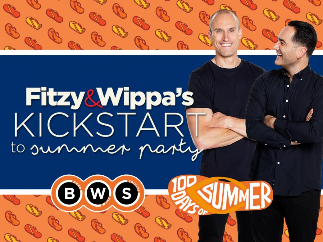 Do you want to party with Fitzy & Wippa?