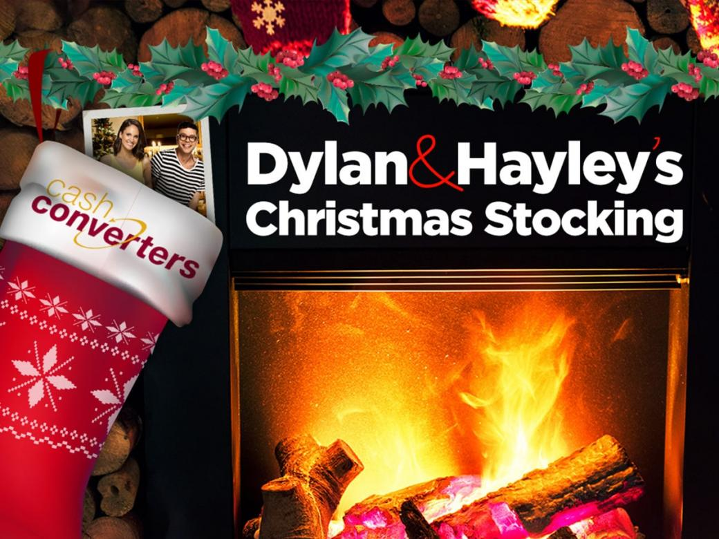 WIN yourself an early Christmas present with Dylan & Hayley's Christmas Stocking!