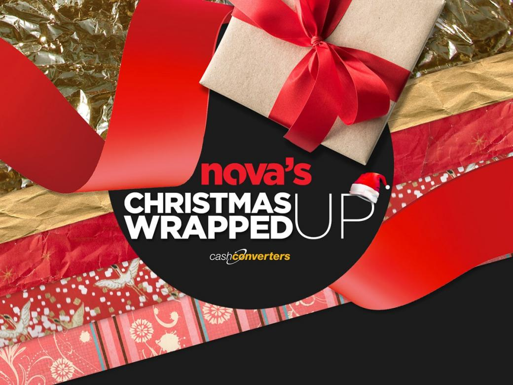 WIN yourself an early Christmas present with Nova's Wrapped Up!