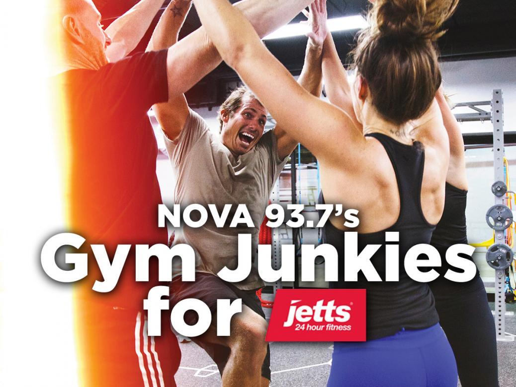Nova 93.7's Gym Junkies for Jetts