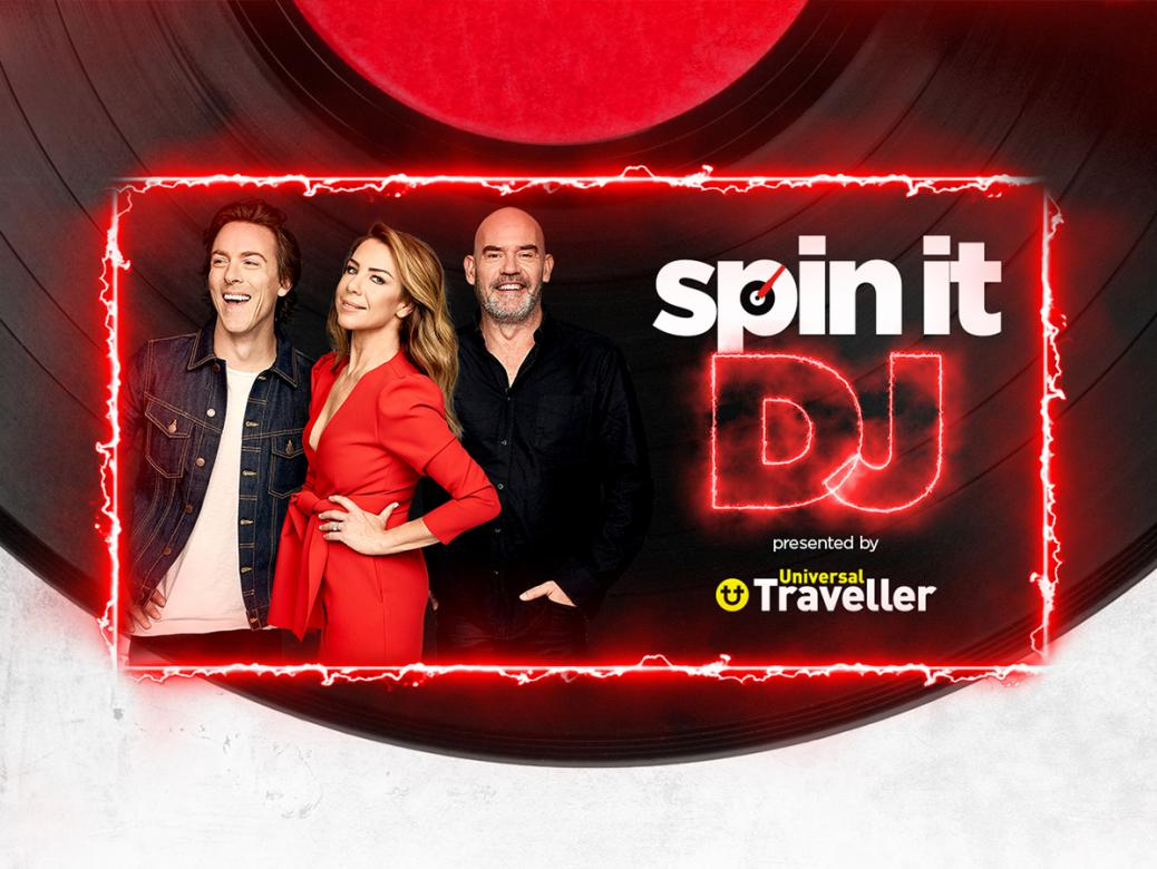 Register Now To Play And Win With Kate, Tim And Marty's Spin It DJ!