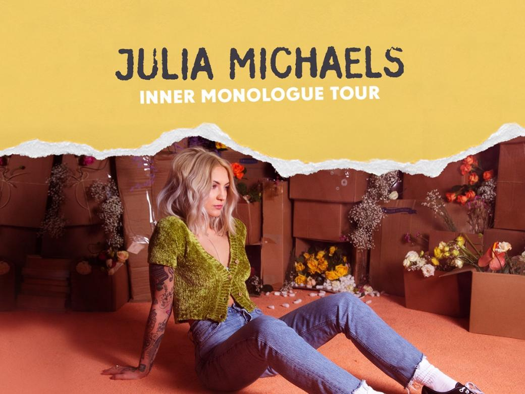 Smallzy's Inner Monologue! MEET and see Julia Michaels LIVE!