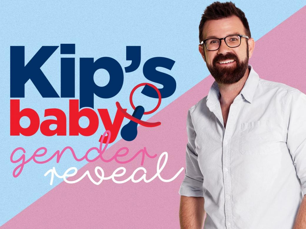 You're invited to Kip's Baby Gender Reveal Party!